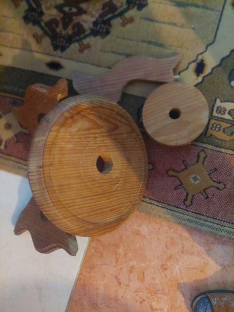 vendo suporte para vaso em madeira