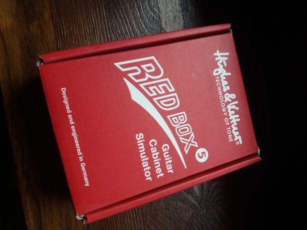 RED BOX MK 5 Hughes & Kettner guitar cabinet simulator di-box
