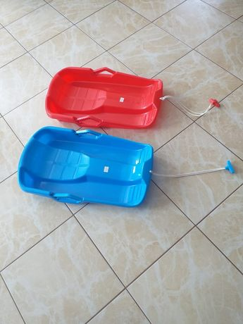 Sanki plastikowe ślizg z hamulcem