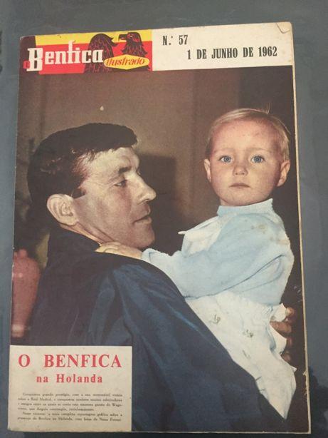 Revista Benfica Ilustrado 1962