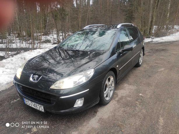 Sprzedam/ zamienię Peugeota 407 SW 2.0 pb/ LPG w bdb stanie