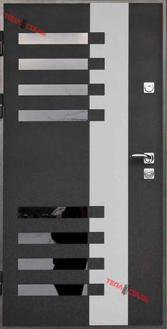 Вхідні двері ТЕПЛОСТАЛЬ(Нст38 RAL 7016)(Н2 дуб полярний)(Р6)(120*205П)