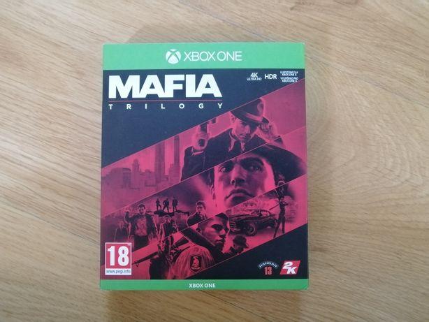 Mafia Trylogy Definitive Edition PL Xbox One trylogia mafii
