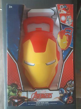 Avengers Walizka Walizeczka Iron Man + akcesoria - nowy zestaw