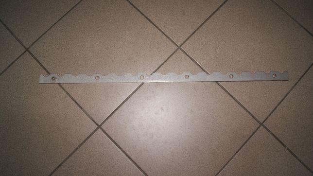 Listwa walca dolnego zębata detektor nóż odrzutnika Claas Jaguar