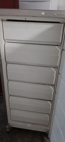 Arca congeladora vertical whirlpool cinza
