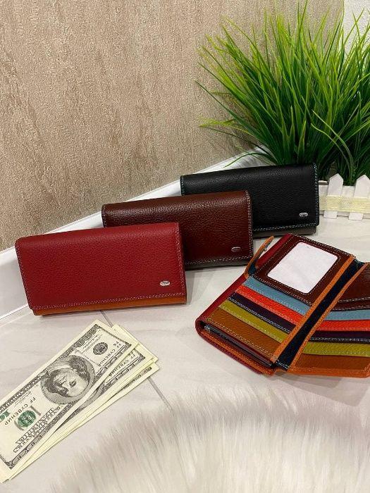 Краща ціна! Жіночий гаманець з натуралної шкіри. Кошелек женский Львов - изображение 1