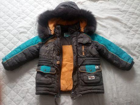 Bardzo ciepła kurtka zimowa 104