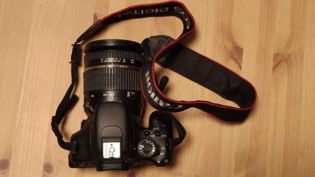 Canon 600d + Tamron 17-50 f2.8 + kit + akcesoria