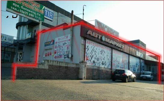 Продаж торгового приміщення 325кв.м. в Рівному. as815141