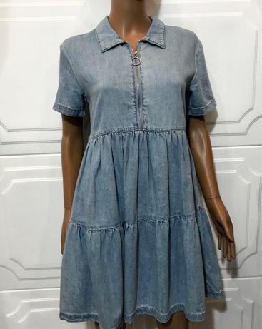 Новое джинсовое платье джинсовый сарафан denim co/s