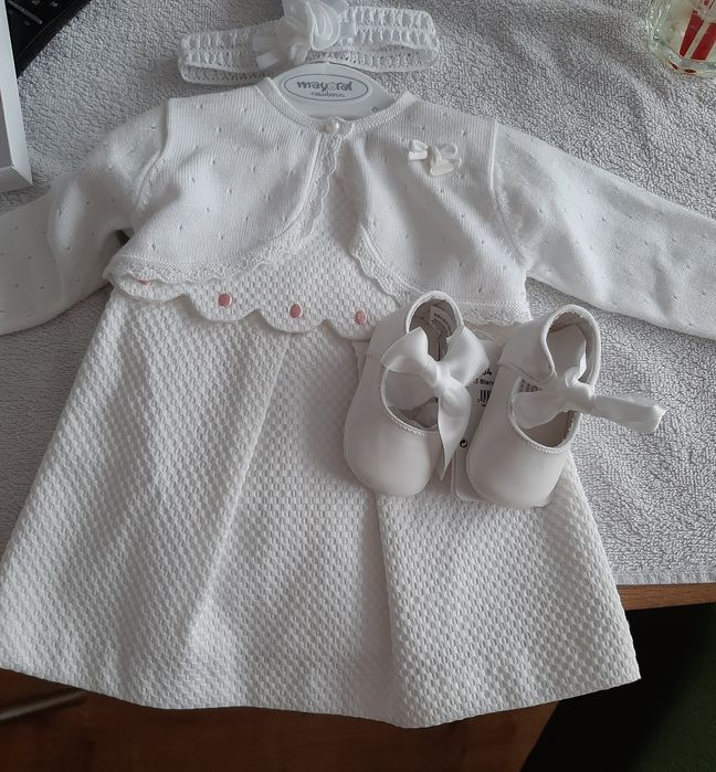 Ubranko do chrztu dla dziewczynki Piła - image 1