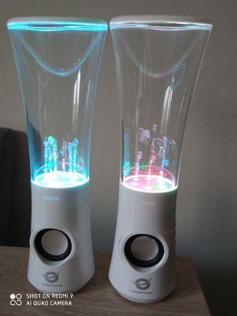 Głośniki wodne LED
