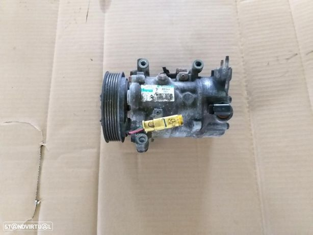 Compressor ar condicionado Peugeot 308 1.6 hdi ano 2009