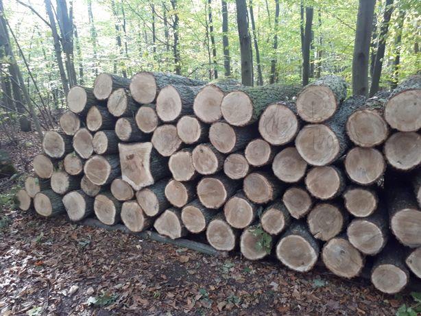 Drewno stosowe buk kominkowe wałki opałowe metry