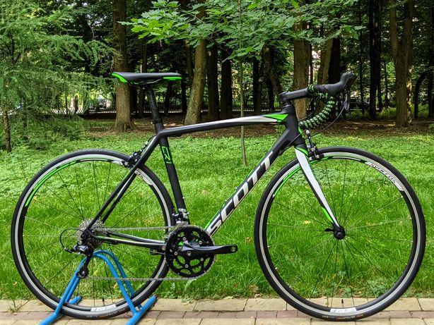 Шоссейный карбоновый велосипед Scott CR1 p.54 (шосейний,шоссер)