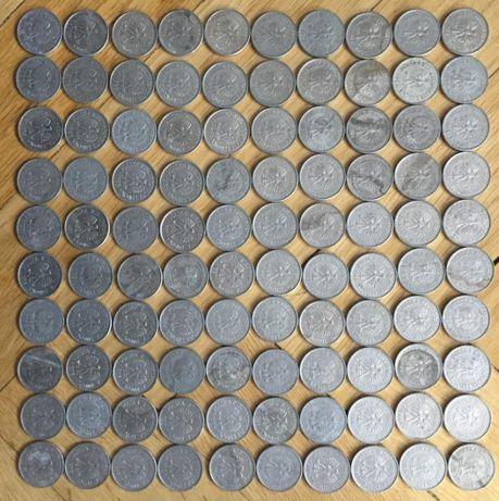 Sprzedam monety PRL 100zł. 20zł. 10zł. 5zł. 2zł. 1zł. 50gr. 20gr. 10gr