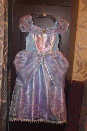 Карнавальное новогоднее платье костюм на 4-5 лет