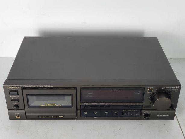 Technics RS BX 626 magnetofon 3 głowice AA HEAD KASETA deck Japan