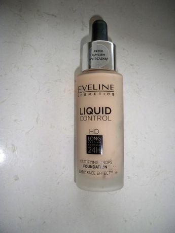 Podkład Eveline Liquid Control 015 Light Vanilla NOWY