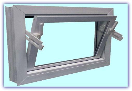 Okna do garażu/piwnic/chlewni/obory Okno INWENTARSKIE uchylne