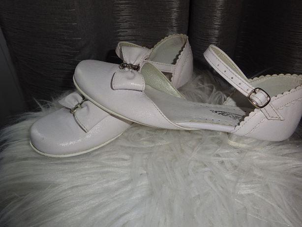 Buty białe Komunia r.33