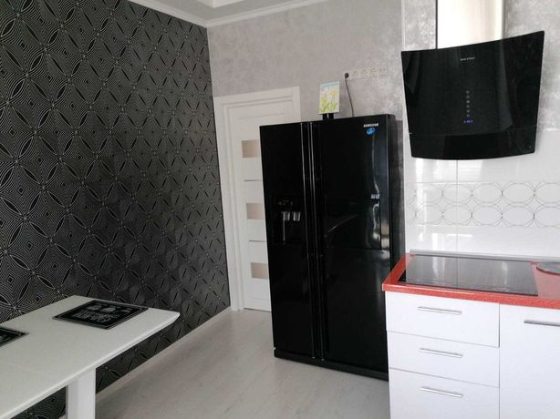 Однокомнатная с Новым Ремонтом Мебелью и Техникой. Дом от СК Будова