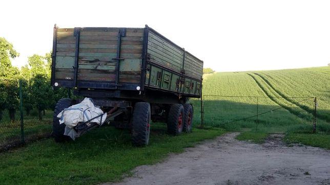 przyczepa wywrotka rolnicza niemiecka, hl, suszarnia do kukurydzy