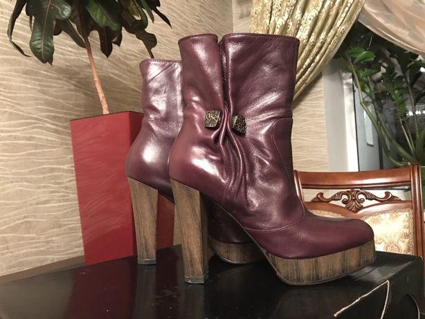 Продам итальянские, кожаные ботинки!Miss sixty, D&G, zara,