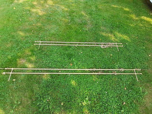 Karnisz podwójny 160cm, 200cm