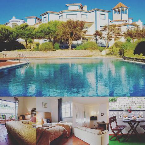 Apartamento T2 férias Praia del Rey, Lagoa Óbidos, Peniche, Baleal,