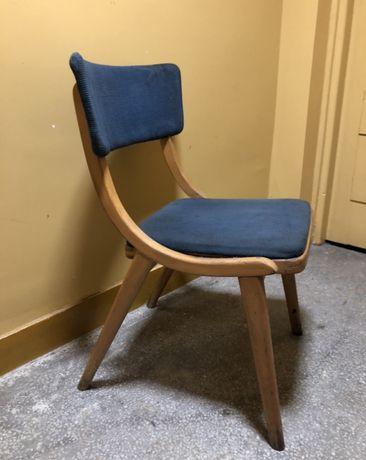 Krzesło skoczek bumerang prl chierowski radomsko