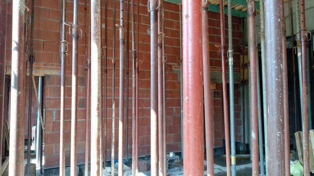 Stemple podpory budowlane wysokie 2,5-4,5m 7-18kn używane tanio Kraków