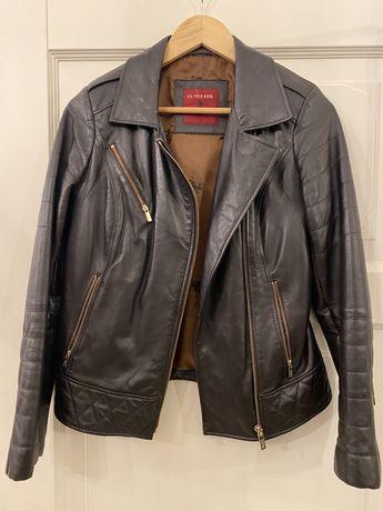 кожаная куртка женская US POLO