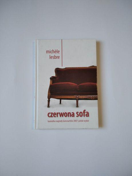 NOWA Czerwona sofa Michele Lesbre książka powieść