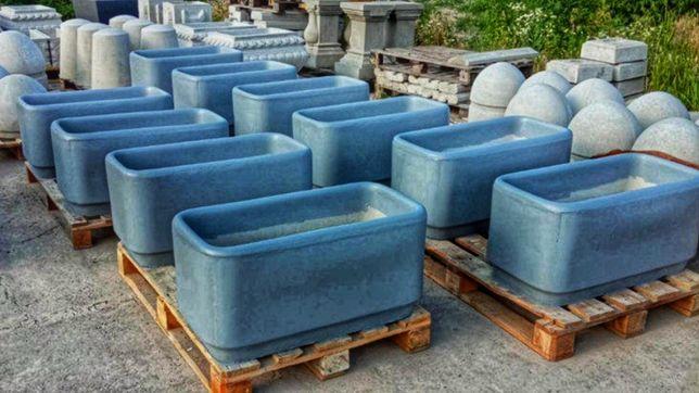 Вазоны для цветов прямоугольные, Вазон бетонный, Кашпо бетонное.