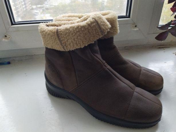 Ботинки зимние ECCO.Оригинал.Р 38.24.5 СМ