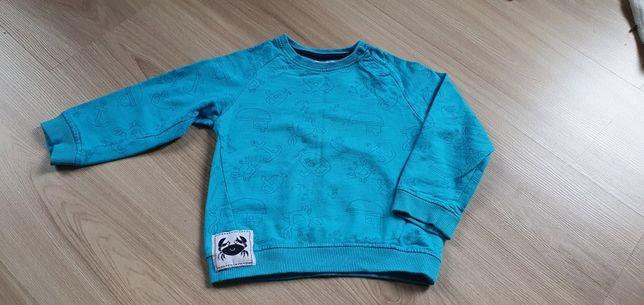 Bluza chłopięca niebieska rozmiar 86/92