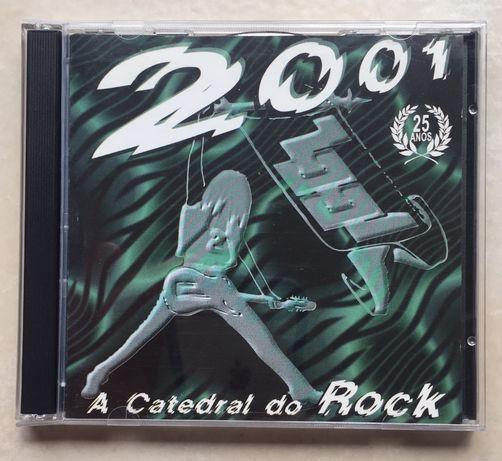 CD 2001, Catedral do Rock, duplo CD. Raro!!