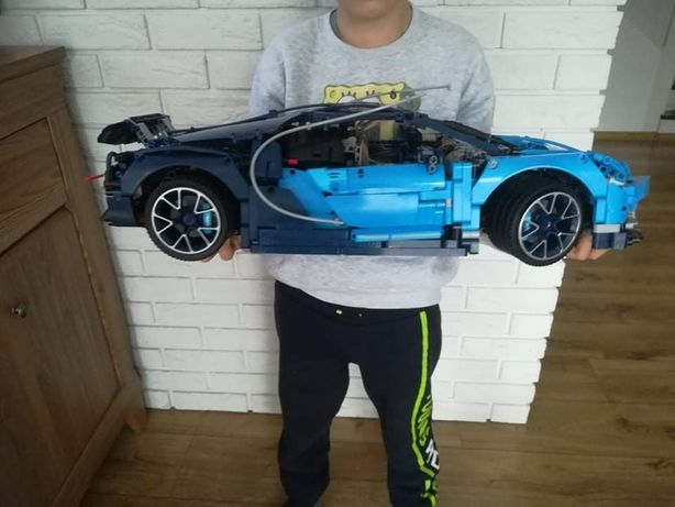 Bugatti Chiron klocki lepin
