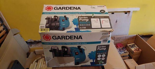 NOWA Elektryczna pompa Gardena 4000/5 do wody czystej