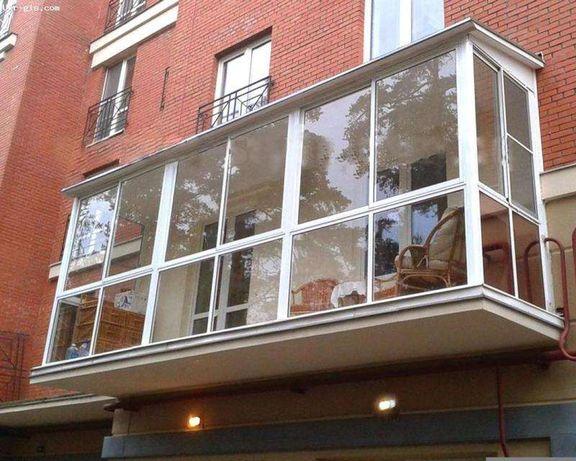 Балкон профессионально. Вынос и расширение. Балкон под ключ.
