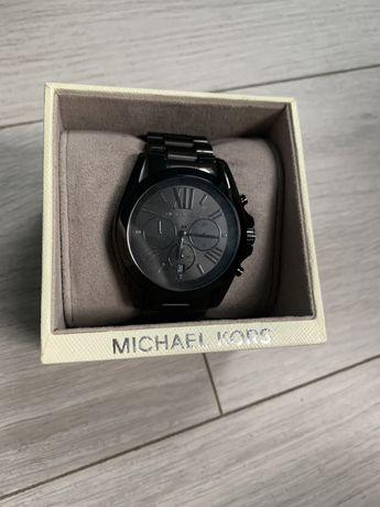 Czarny zegarek Michael Kors MK5550 bradshaw 2288