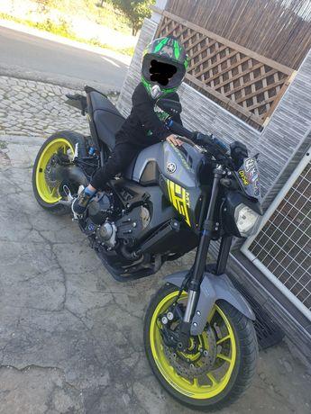 MT09 2016 mota de garagem