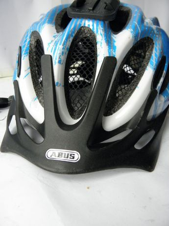 Kask rowerowy ABUS M 52-58 cm LED uchwyt na kamerę