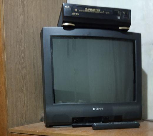 Рабочий цветной телевизор Sony