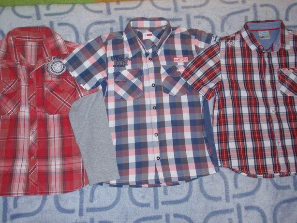 Рубашка на рост 128-136