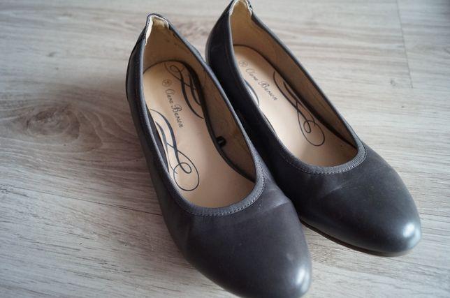 damskie buty szare