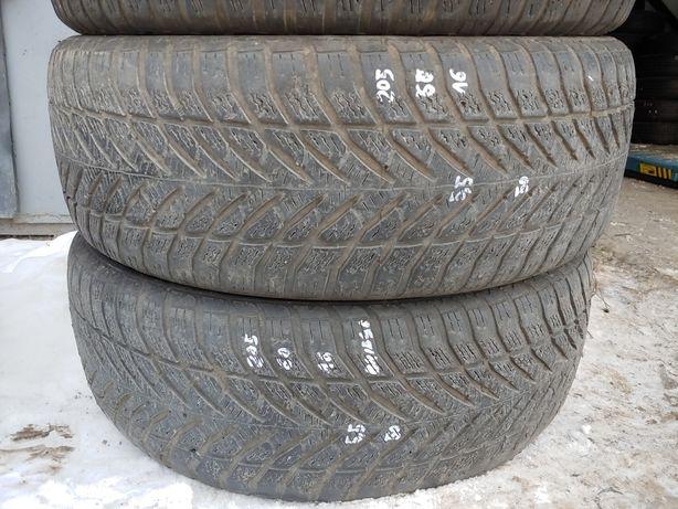 2X opony zimowe Bridgestone 205/55/16 MONTAŻ Reda