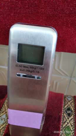 электронные весы для багажа EL50